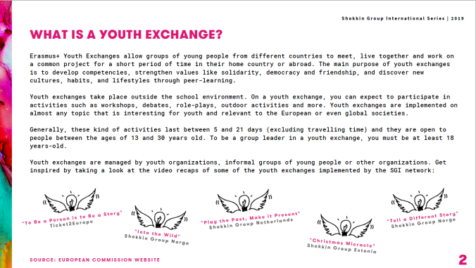 Leaderss upport mnual youth exchanges.png